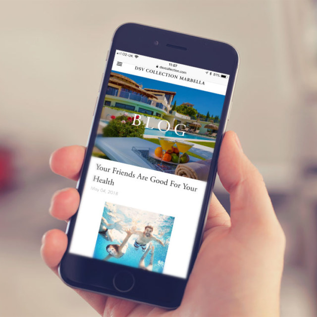 Digital marketing for DSV