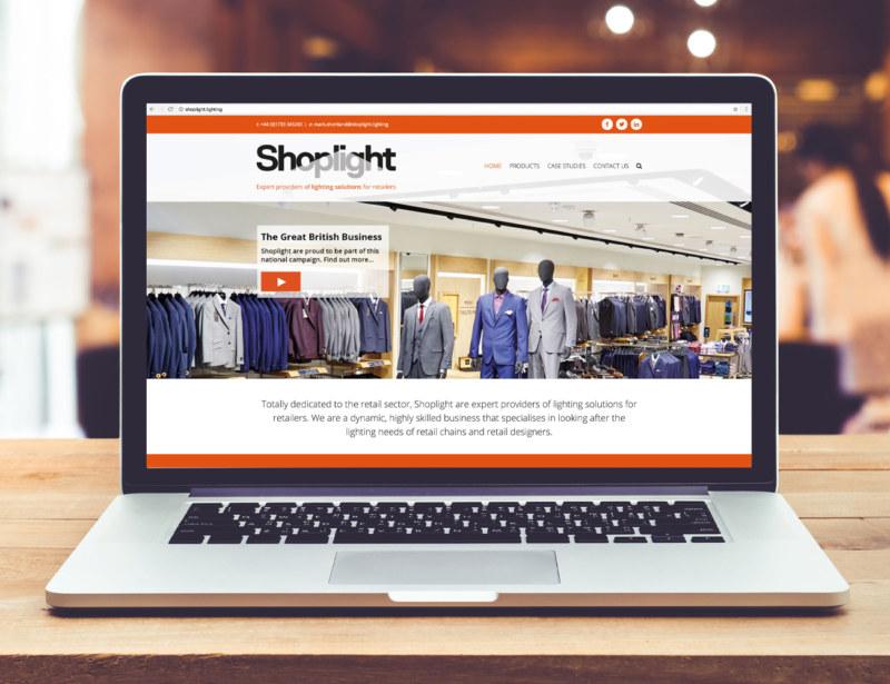 Shoplight-Website