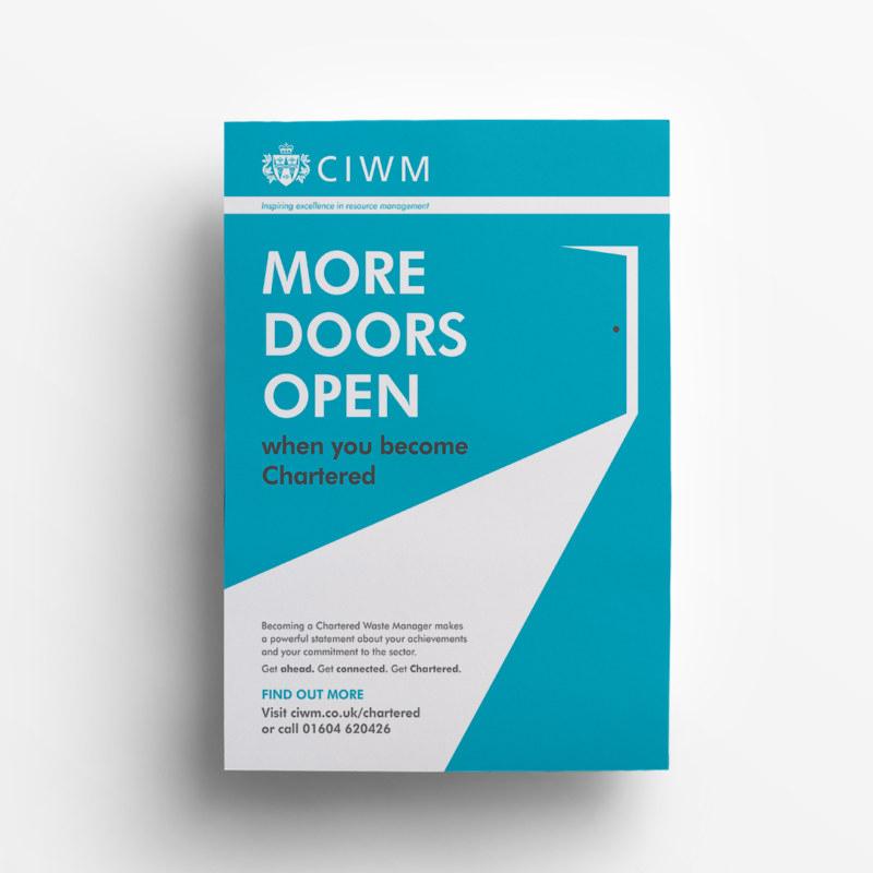 CIWM Door poster